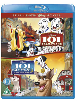 101 Dalmatians/101 Dalmatians 2 (2 Blu-Ray) [Edizione: Regno Unito]