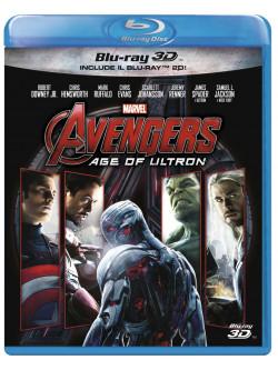 Avengers - Age Of Ultron (3D) (Blu-Ray+Blu-Ray 3D)