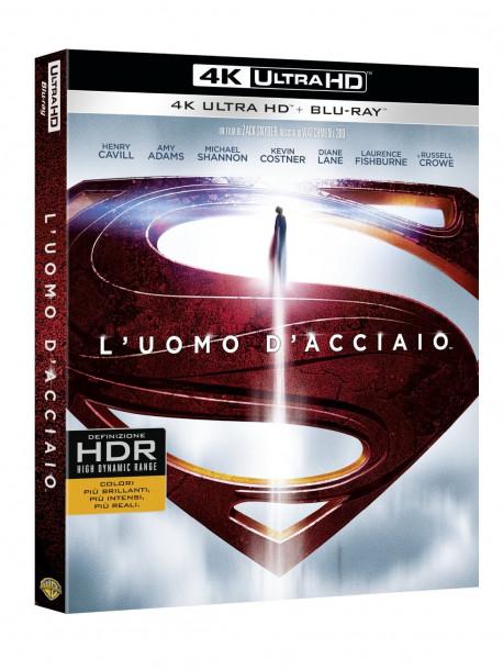 Uomo D'Acciaio (L') (Blu-Ray 4K Ultra HD+Blu-Ray+Copia Digitale)