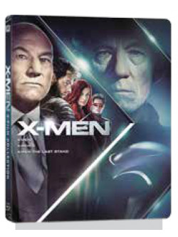X-Men / X-Men 2 / X-Men - Conflitto Finale (Ltd Steelbook) (3 Blu-Ray)