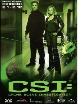 C.S.I. - Scena Del Crimine - Stagione 02 01 (Eps 01-12) (3 Dvd)