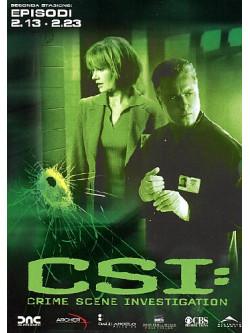 C.S.I. - Scena Del Crimine - Stagione 02 02 (Eps 13-23) (3 Dvd)