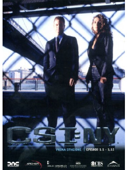 C.S.I. New York - Stagione 01 01 (Eps 01-12) (3 Dvd)