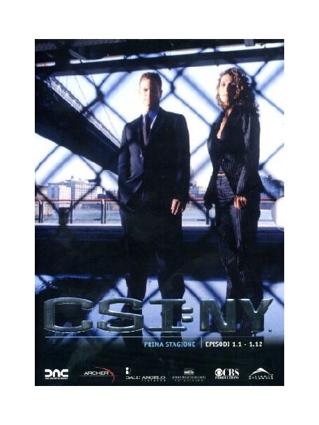 C.S.I. New York - Stagione 01 01 (Eps 01-12) (3 Dvd)