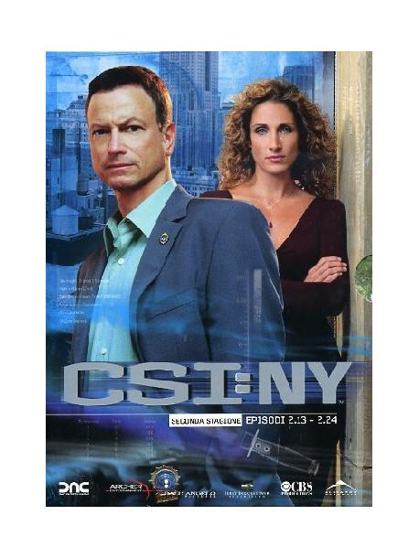C.S.I. New York - Stagione 02 02 (Eps 13-24) (3 Dvd)