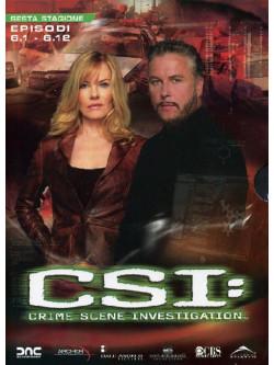 C.S.I. - Scena Del Crimine - Stagione 06 01 (Eps 01-12) (3 Dvd)