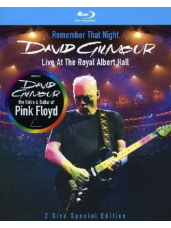 David Gilmour - Remember That Night (2 Blu-Ray)