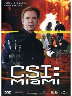 C.S.I. Miami - Stagione 03 02 (Eps 13-24) (3 Dvd)