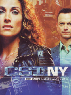 C.S.I. New York - Stagione 03 02 (Eps 13-24) (3 Dvd)