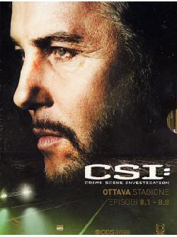 C.S.I. - Scena Del Crimine - Stagione 08 01 (Eps 01-08) (3 Dvd)