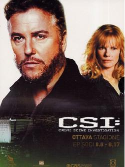 C.S.I. - Scena Del Crimine - Stagione 08 02 (Eps 09-17) (3 Dvd)