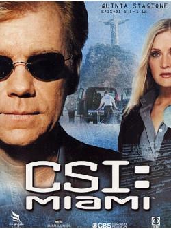 C.S.I. Miami - Stagione 05 01 (Eps 01-12) (3 Dvd)