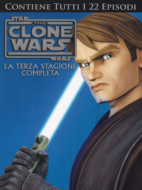 Star Wars - The Clone Wars - Stagione 03 (4 Dvd)