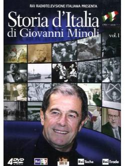 Storia D'Italia Di Giovanni Minoli 01 (4 Dvd)
