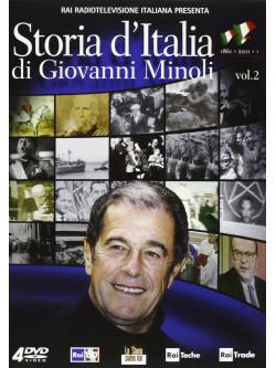 Storia D'Italia Di Giovanni Minoli 02 (4 Dvd)