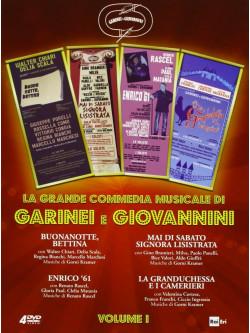 Garinei E Giovannini - La Grande Commedia Musicale 01 (4 Dvd)