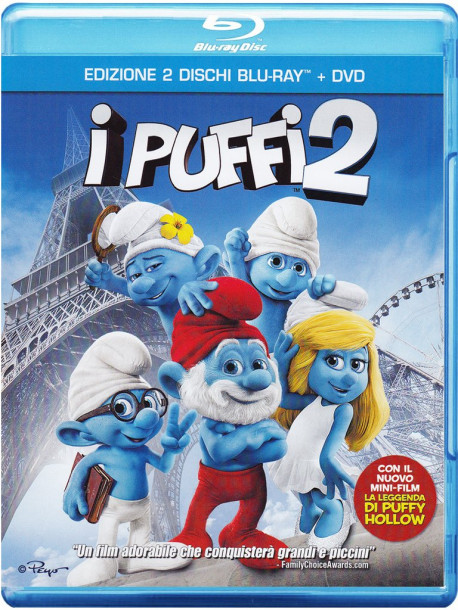 Puffi 2 (I) (Blu-Ray+Dvd)