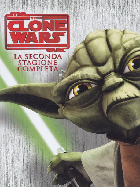 Star Wars - The Clone Wars - Stagione 02 (4 Dvd)