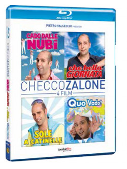 Checco Zalone 4 Film Collection (4 Blu-Ray)