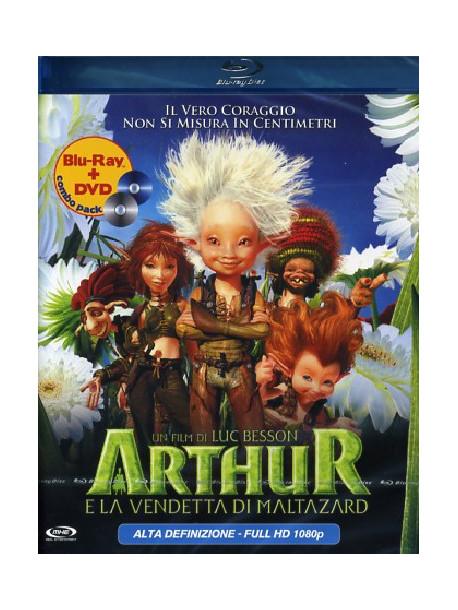 Arthur E La Vendetta Di Maltazard (Blu-Ray+Dvd)
