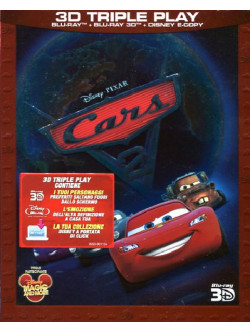 Cars 2 (3D) (Blu-Ray+Blu-Ray 3D+E-Copy)