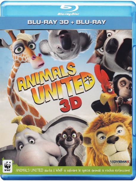 Animals United (3D) (Blu-Ray 3D+Blu-Ray)