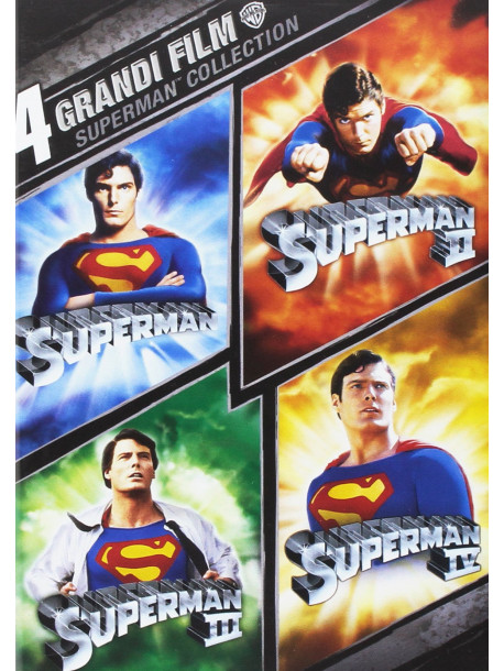 Superman - 4 Grandi Film (4 Dvd)