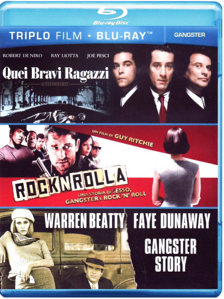 Gangsters Triplo Blu-Ray (3 Blu-Ray)