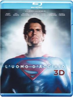 Uomo D'Acciaio (L') (3D) (Blu-Ray 3D+Blu-Ray+Copia Digitale)