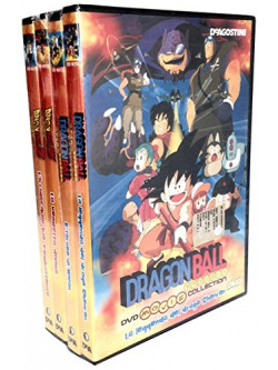 Dragon Ball Movie Collection - Pack 01 (4 Dvd)