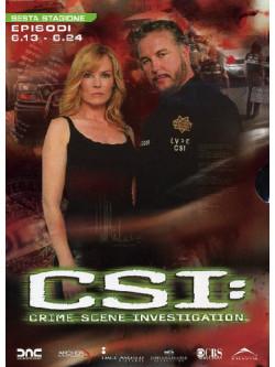 C.S.I. - Scena Del Crimine - Stagione 06 02 (Eps 13-24) (3 Dvd)