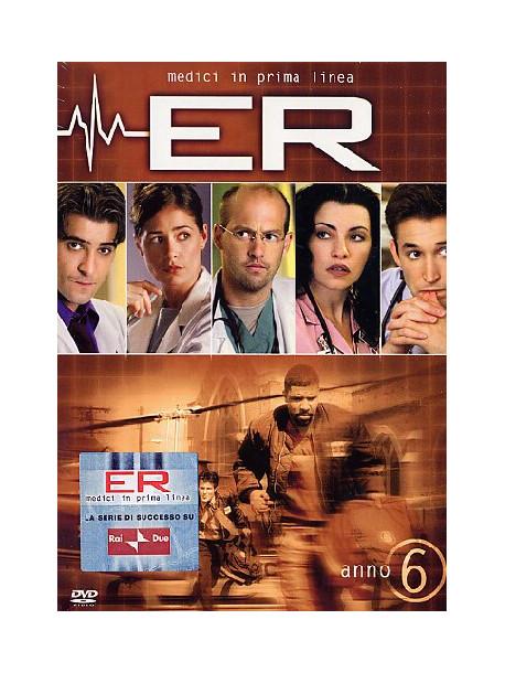 E.R. - Medici In Prima Linea - Stagione 06 (3 Dvd)