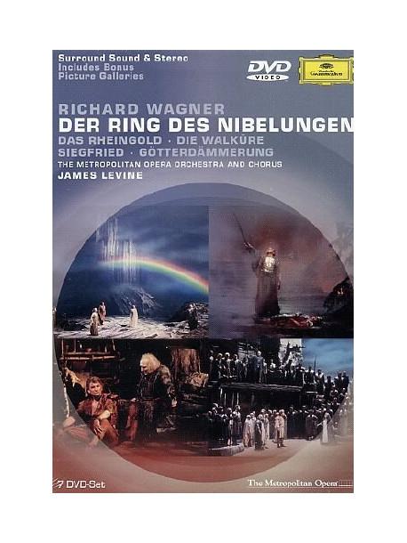 acquisto economico prezzo ridotto ottenere a buon mercato Wagner - L'Anello Del Nibelungo - Levine (7 Dvd)
