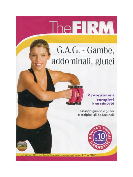 Firm (The) - Gag - Gambe Addominali Glutei (Dvd+Booklet)