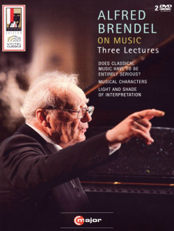 Alfred Brendel - On Music. Three Lectures (2 Dvd)