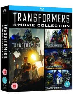 Transformers - 4 Movie Collection (4 Blu-Ray) [Edizione: Regno Unito]