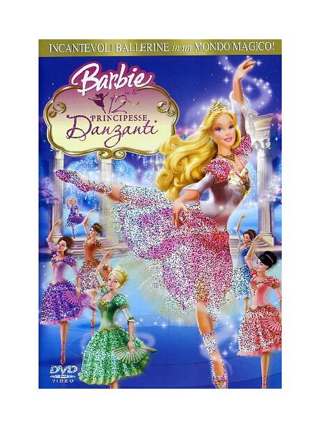 dvd barbie 12 principessa danzanti