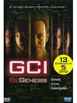 G.C.I. - Regenesis - Stagione 01 (5 Dvd)