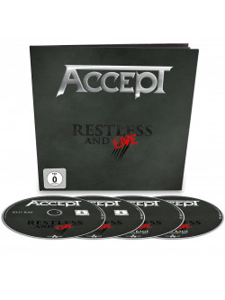 Accept - Restless & Live (4 Blu-Ray)