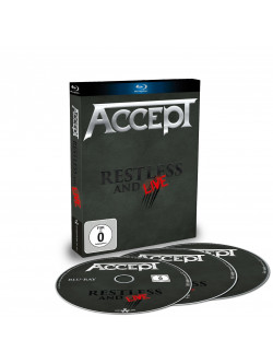 Accept - Restless & Live (3 Blu-Ray)