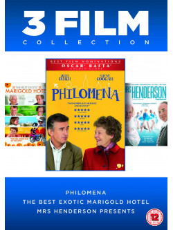 Philomena / The Best Exotic Marigold Hotel / Mrs Henderson Presents (3 Dvd) [Edizione: Regno Unito]