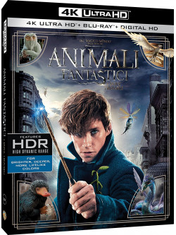 Animali Fantastici E Dove Trovarli (Blu-Ray 4K Ultra HD+Blu-Ray)