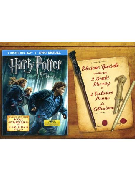 Harry Potter E I Doni Della Morte - Parte 01 (Ltd Gift Edition) (2 Blu-Ray+2 Penne)