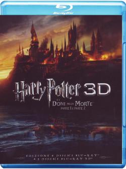 Harry Potter E I Doni Della Morte - Parte 01-02 (3D) (4 Blu-Ray+2 Blu-Ray 3D)