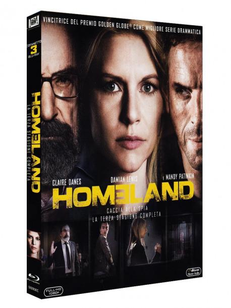 Homeland - Stagione 03 (3 Blu-Ray)