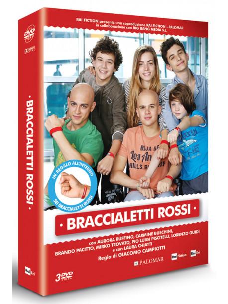 Braccialetti Rossi - Stagione 01 (3 Dvd+Gadget)