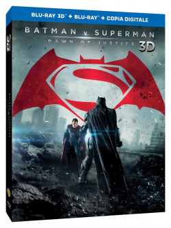 Batman V Superman - Dawn Of Justice (3D) (Blu-Ray 3D+Blu-Ray)