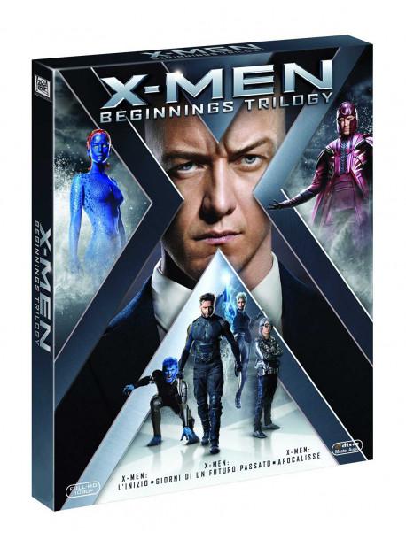 X-Men - L'Inizio / X-Men - Giorni Di Un Futuro Passato / X-Men - Apocalisse (3 Dvd)