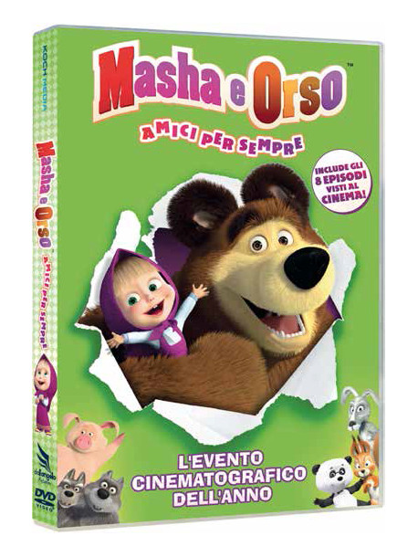 Masha E Orso - Stagione 02 02 - Amici Per Sempre