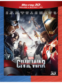 Captain America - Civil War (3D) (Blu-Ray 3D+Blu-Ray)